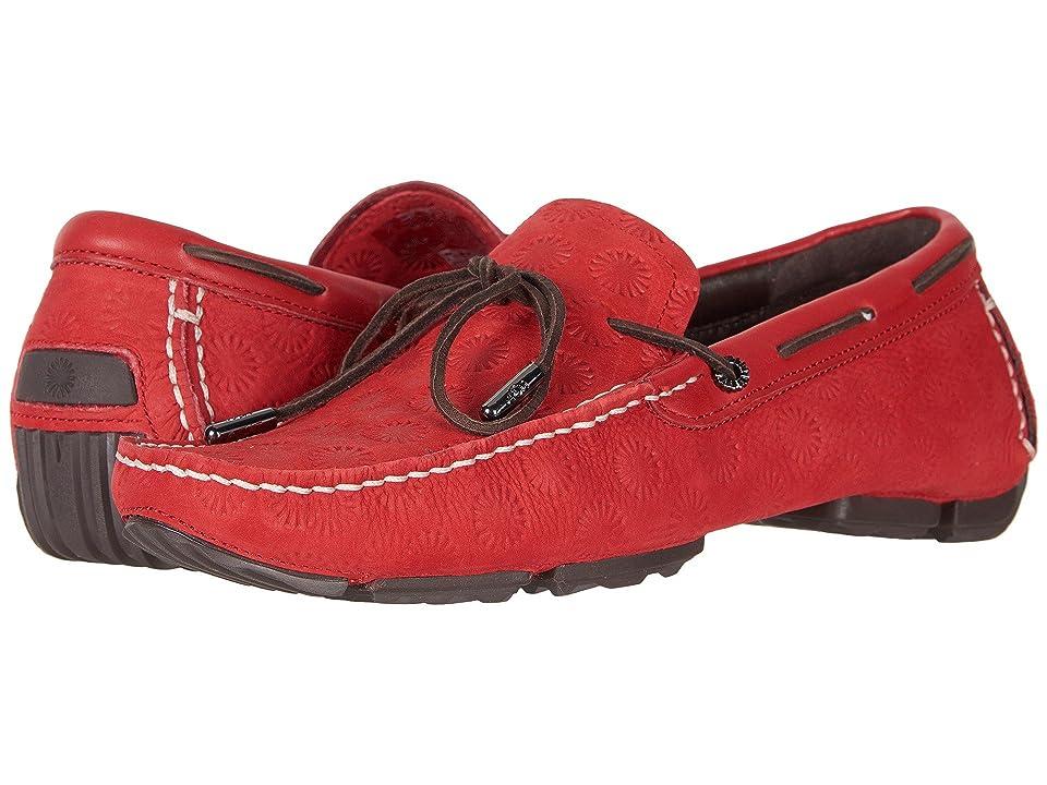 UGG Bel-Air Lace Emboss Slip-On (Samba Red) Men
