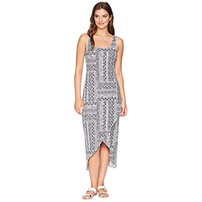 Tommy Bahama Fiesta Fans Maxi Dress (Black) Women