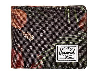 Herschel Supply Co. Roy RFID (Tropical Hibiscus) Wallet Handbags