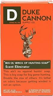 Duke Cannon Big 'Ol Brick of Hunting Soap - Scent Eliminator, 10 Ounce