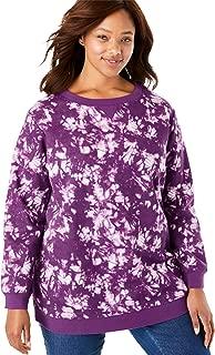 Women's Plus Size Fleece Sweatshirt