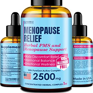 Sponsored Ad - Menopause & PMS Natural Relief with Black Cohosh for Hot Flashes - Made in USA - Supports Healthy Weight Lo...