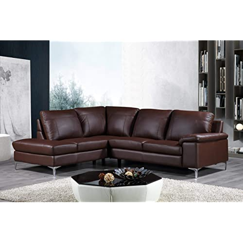 Cheap Genuine Leather Sectional Sofa: Genuine Leather Sectional: Amazon.com