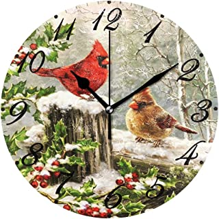 Best cardinal wall clock Reviews