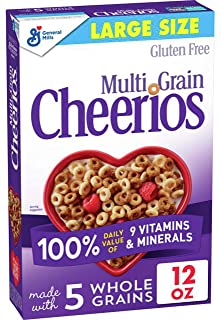 Multi Grain Cheerios, Gluten Free, Multigrain Cereal, 12 Oz