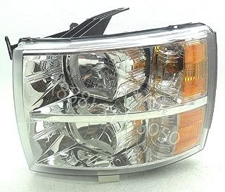 General Motors Genuine OEM 2007-2014 Chevy Silverado 1500 2500 3500 Left Headlamp Headlight