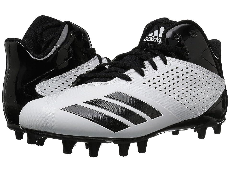 adidas 5-Star Mid Football (Footwear White/Core Black/Core Black) Men