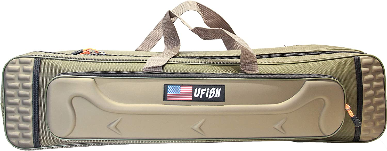 UFISH Multifunctional Fishing Jacksonville Year-end gift Mall Rod Storage Bag Pole Bags