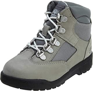 Timberland Toddler 6 Inch Leather Boots Light Grey