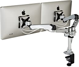 HumanCentric XT-Series Dual Monitor Display Mounting Arm | Premium Monitor Stand & VESA Mount | New 2018 Model