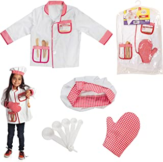 chef dress up toddler