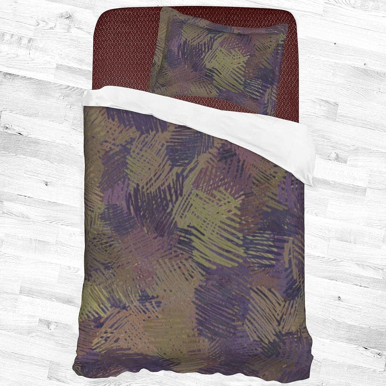 Popular brand in the world Olanustu Queen Comforter Set Dark Graffiti Poly Soft Lightweight New product! New type