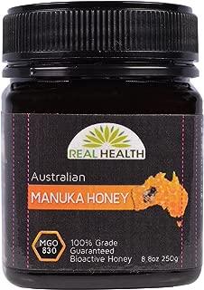 Real Health, Australian Manuka Honey, MGO 830, 8.8 oz (250 g)