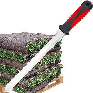 Keyfit Tools SOD Knife Stainless Steel Blade Sod Cutter Trim New sod Around Landscape Edging beds & Sunken, Overgrown Sprinkler Heads Like Hunter PGP Raise Repair Adjust Remove Sprinkler Guard