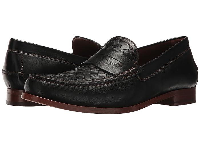 1940s Men's Shoes & Boots | Gangster, Spectator, Black and White Shoes Trask Slade Mens Slip-on Dress Shoes $179.99 AT vintagedancer.com