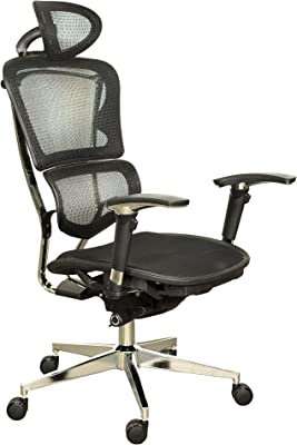 Ergomax Office EXE658BK Office Chair, Black