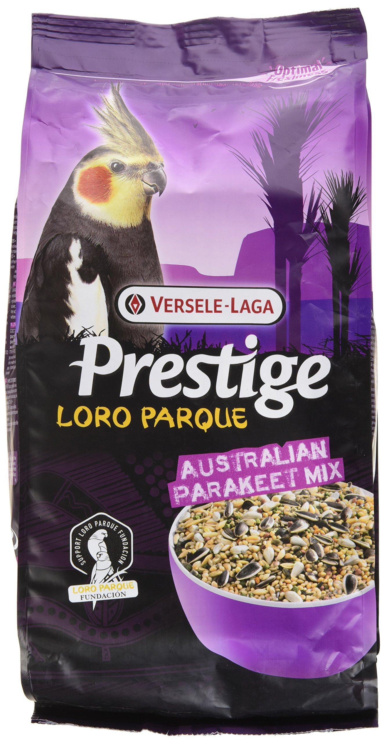 Prestige Premium Parakeet Loro Parque Mix Bird Food 1 kilogram