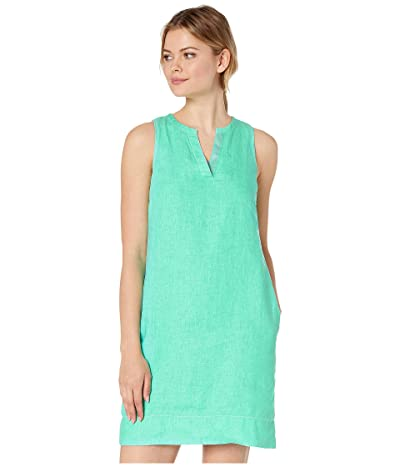 Tommy Bahama Seaglass Linen Shift Dress (Seaport Teal) Women