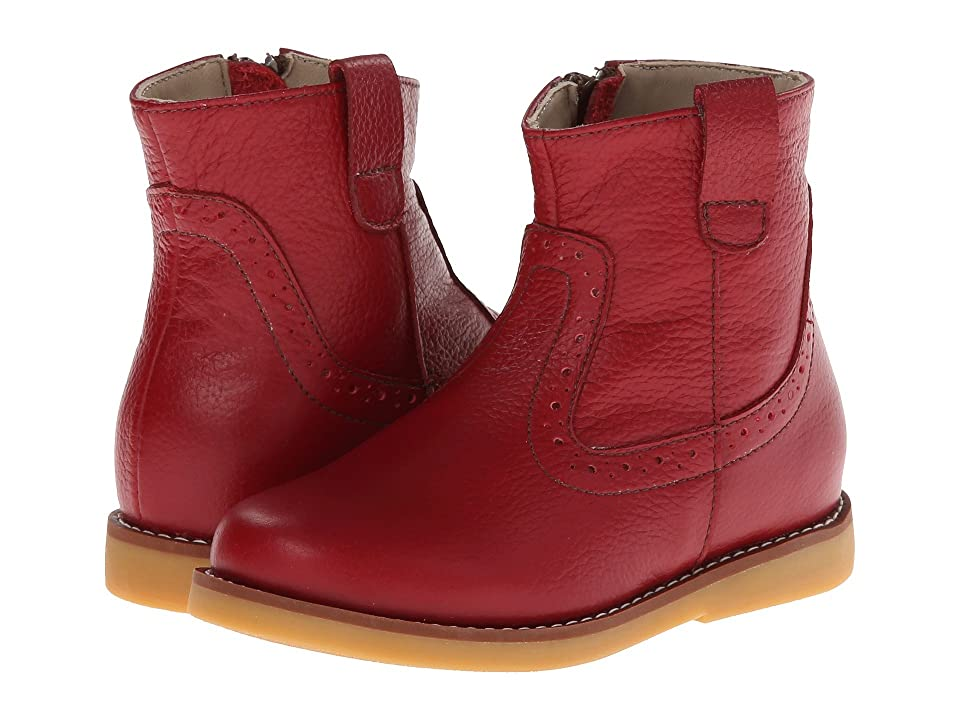 Elephantito Madison Ankle Boot (Toddler/Little Kid/Big Kid) (Red) Girls Shoes