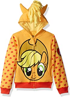 My Little Pony Girls' Apple Jack Costume Zip-up Hoodie