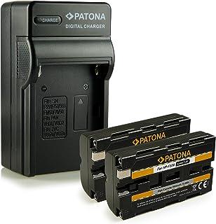 Bundle - 4en1 Cargador + 2x Batería NP-F550 para Sony BC-V615 | DCM-M1 | DCR-TRU47E | MVC-CD1000 | PLM-100 | VCL-ES06A | CCD-TR (Hi8) Serie | CCD-TR1 | CCD-TR200 | CCD-TR215 | CCD-TR3 | CCD-TR300 | CCD-TR3000 | CCD-TR3300 | CCD-TR416 | CCD-TR500 | CCD-TR516 | CCD-TR517 | CCD-TR57 | CCD-TR555 | CCD-TR67 mucho más…