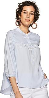 قميص ال اي ال اس كلاسيكي سادة للنساء من ليفايس