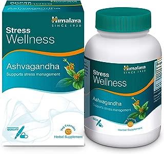 Himalaya Ashvagandha, Relieves Stress and Boosts Energy, Ashwagandha Veg. Caps, 60 Tablets