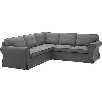 IKEA Ektorp Sectional Slipcover Cover 4 Seat Corner 403.216.88 Lofallet Beige