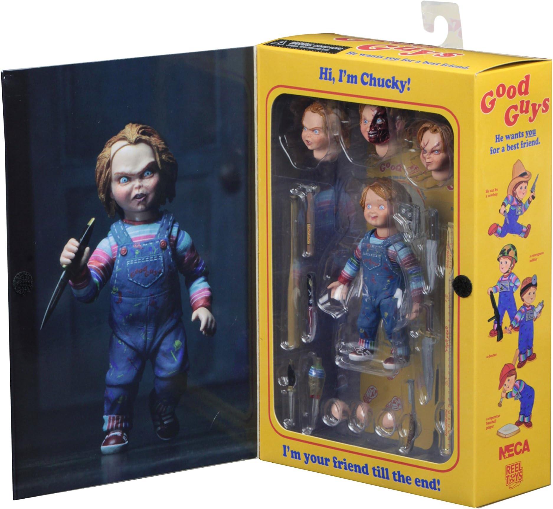 """Chucky batte de baseball Neca Childs Play partie 1 2018 Accessoire aucune FIGURE 3/"""""""