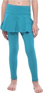 Merry Style Mädchen Lange Leggings aus Baumwolle mit Rock MS10-254