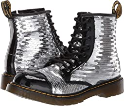 1460 Pooch Sequins Boot (Big Kid)