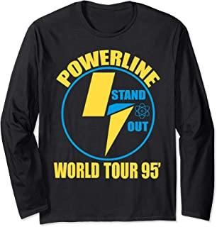 Powerline Shirts World Tour  Long Sleeve T-Shirt