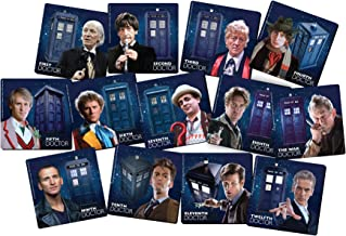 Vandor Doctor Who 13-Piece Coaster Set with Tin Storage Box (16185)