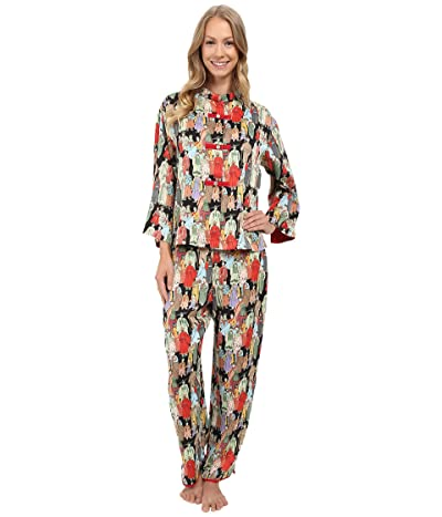 Natori Dynasty PJ (Black) Women