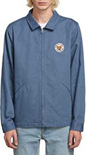 Volcom Men's Burkey Lightweight Garage Workwear Jacket