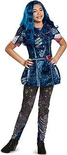 Disguise Evie Classic Descendants 2 Costume, Blue, Large (10-12)