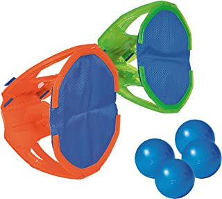 Diggin Squap Ball Toss Catch Game Set. 2 Paddle Mitts & 4 Balls