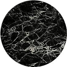 CoasterStone Black Marble Stoneware Trivet, 7 Inch Diameter, Neutral