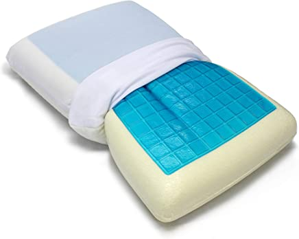 featured product VViViD Reversible Memory Foam Comfort Sleep Pillow w/Cooling Gel Layer