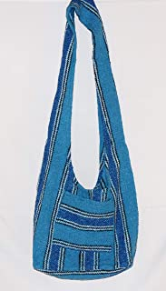 Hippie Bag Cross-Body Baja Sling Bag Tote Classic Baja Jacket Fabric Men Women