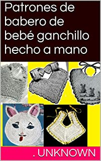 Amazon.es: Baberos De Crochet