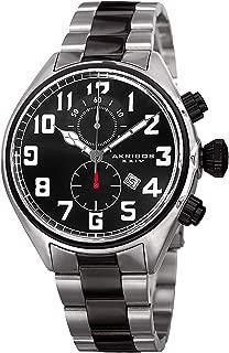 Akribos XXIV Men's Chronograph Multifunction Watch - with Date Window On Stainless Steel Bracelet Watch - AK853