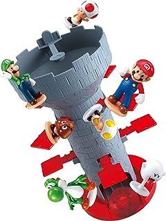 Epoch Juegos Super Mario Blow Up! Shaky Tower Equilibrio Juego, Habilidad de Mesa y Juego de acción con Figuras de acción ...