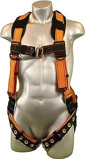 Malta Dynamics Warthog Full Body Harness with Tongue Buckle Legs & X-Pad (XL-XXL), OSHA/ANSI/CSA Compliant
