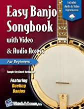 Easy Banjo Songbook For Beginners with Video & Audio Access (Banjo Primer 2)