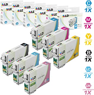 LD Remanufactured Ink Cartridge Replacements for Epson 79 High Yield (1 Black, 1 Cyan, 1 Magenta, 1 Yellow, 1 Light Cyan, 1 Light Magenta, 6-Pack)