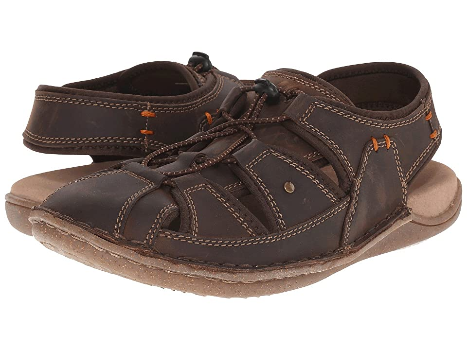 Hush Puppies Bergen Grady (Brown Waxy Leather) Men