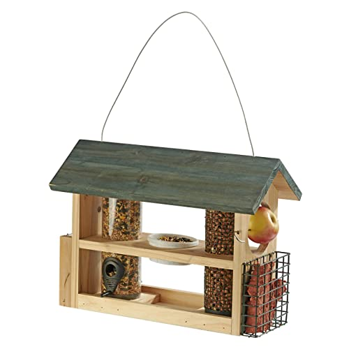 Wooden Bird Feeders Amazoncouk
