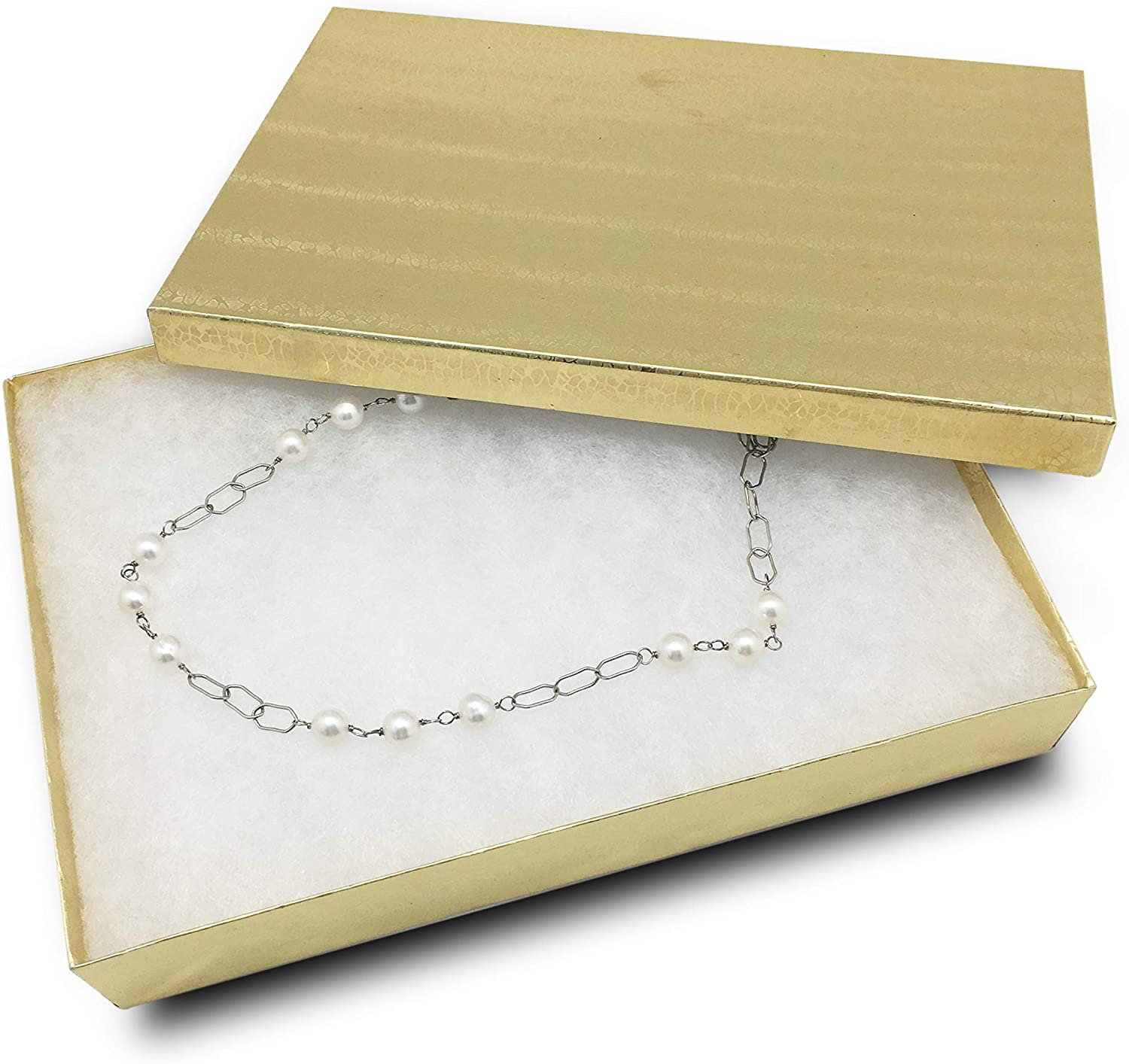 TheDisplayGuys 25-Pack Sales of SALE Be super welcome items from new works #85 Cotton Cardboard Filled Jewelry Paper
