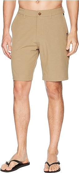 """Union Heather 20"""" Amphibian Shorts"""